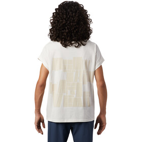 Mountain Hardwear Tomomi Camiseta Manga Corta Mujer, blanco